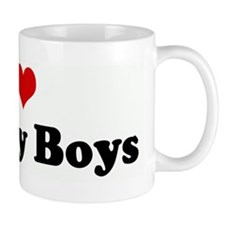 I Love Hockey Boys Mug