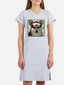Handsome Holiday Corgi Women's Nightshirt