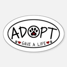 Universal Animal Rights Sticker (Oval)