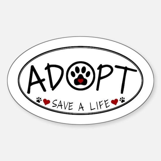 Universal Animal Rights Sticker (Oval)