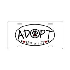 Universal Animal Rights Aluminum License Plate