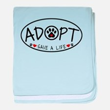 Universal Animal Rights baby blanket