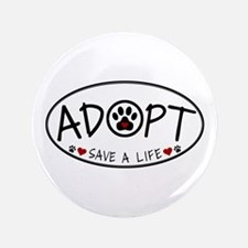 """Universal Animal Rights 3.5"""" Button"""