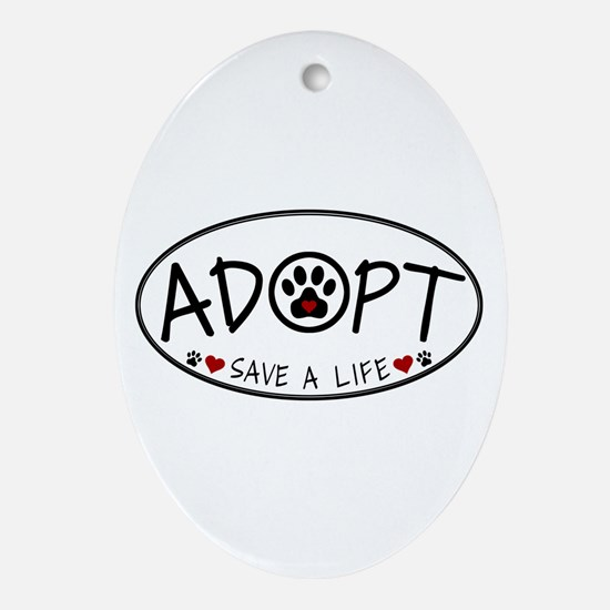 Universal Animal Rights Ornament (Oval)