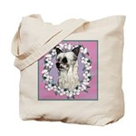 Powder Puff Chinese Crested Tote Bag