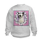Powder Puff Chinese Crested Kids Sweatshirt