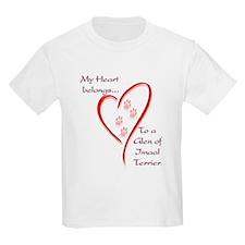 Glen of Imaal Heart Belongs Kids T-Shirt