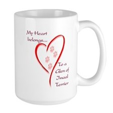 Glen of Imaal Heart Belongs Mug