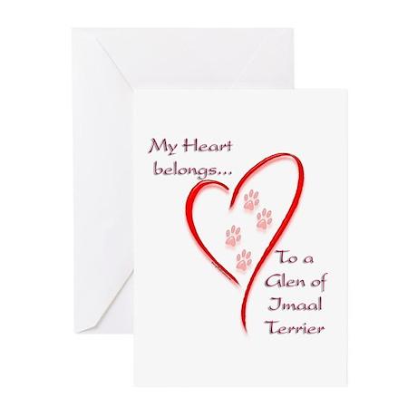 Glen of Imaal Heart Belongs Greeting Cards (Packag