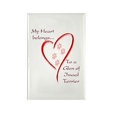 Glen of Imaal Heart Belongs Rectangle Magnet