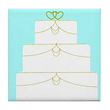 Wedding Cake Tile Coaster
