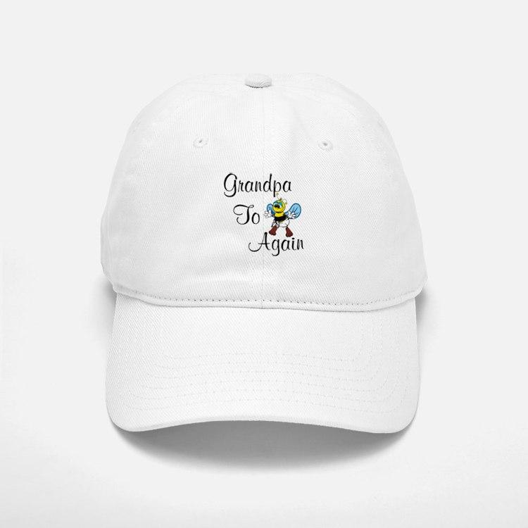 Grandpa To Bee Again Baseball Baseball Baseball Cap