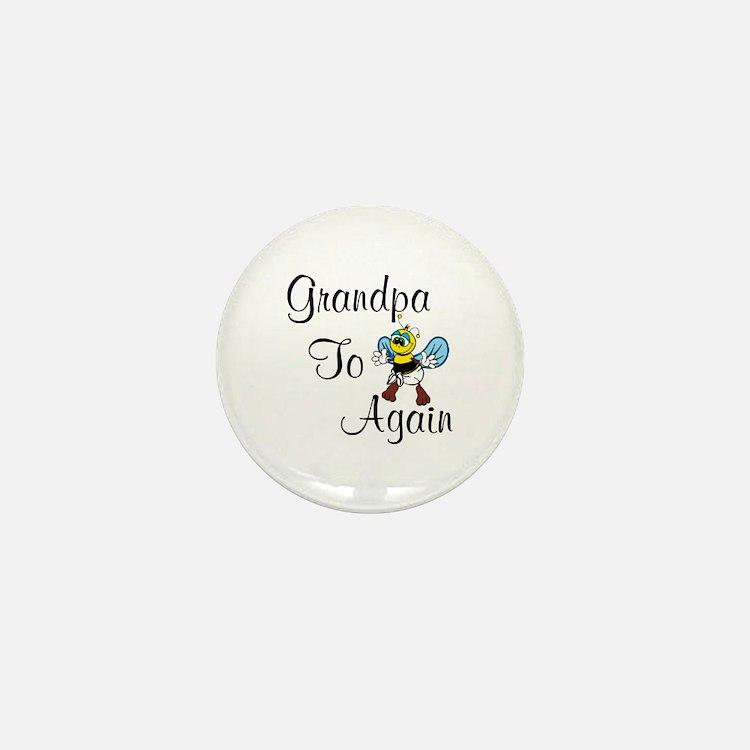 Grandpa To Bee Again Mini Button