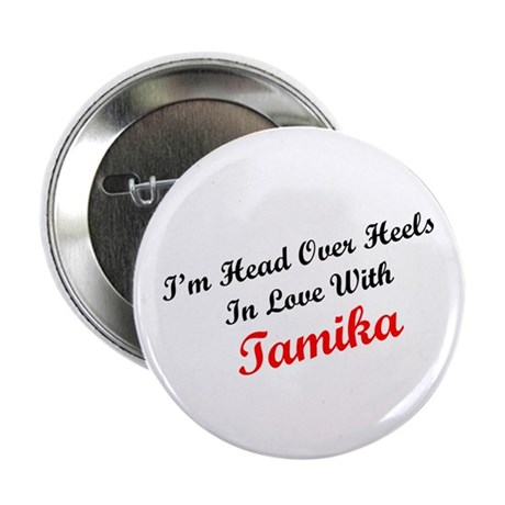 "In Love with Tamika 2.25"" Button (10 pack)"