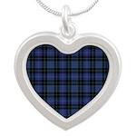 Tartan - Cargill Silver Heart Necklace