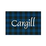 Tartan - Cargill Rectangle Magnet (10 pack)
