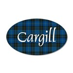 Tartan - Cargill 20x12 Oval Wall Decal