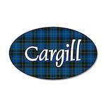 Tartan - Cargill 35x21 Oval Wall Decal
