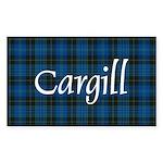 Tartan - Cargill Sticker (Rectangle)