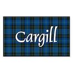 Tartan - Cargill Sticker (Rectangle 10 pk)