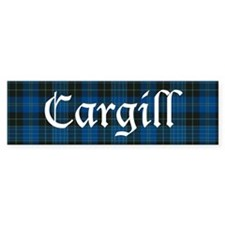 Tartan - Cargill Bumper Sticker