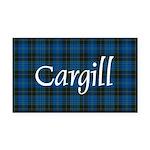 Tartan - Cargill Rectangle Car Magnet