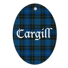 Tartan - Cargill Ornament (Oval)