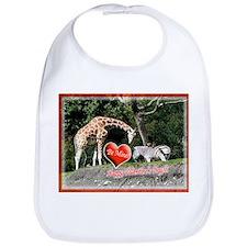 Helaines' Giraffe/Zebra Valen Bib