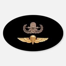 EOD Senior Parachutist Sticker (Oval)