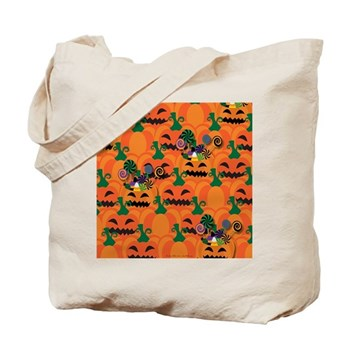 Halloween Candy Pumpkin Patch Tote Bag