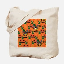 Halloween Candy Pumpkin Patch Tote Bag
