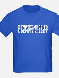 My Heart Belongs to a Deputy Sheriff T