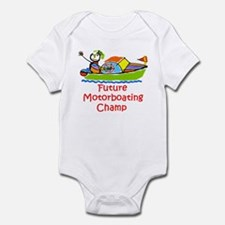 Future Motorboating Champ Onesie
