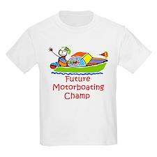 Future Motorboating Champ Kids T-Shirt