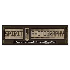 Spirit Photography Bumper Bumper Sticker