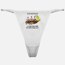 KINDNESS CARTOON Classic Thong