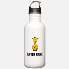 Giraffe Personalize It! Water Bottle