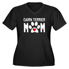 Cairn Terrier Mom Plus Size T-Shirt