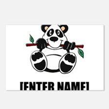Panda Personalize It! Postcards (Package of 8)