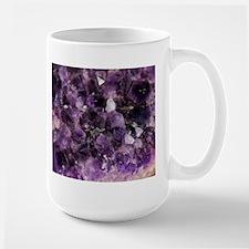 Amethyst crystal Mugs