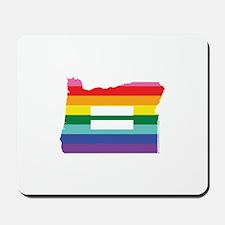 Oregon equality Mousepad