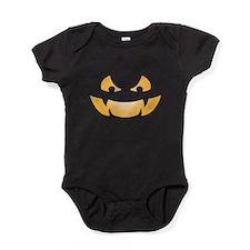Scary Jack O Lantern Baby Bodysuit