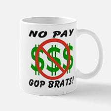 NO PAY GOP BRATS Mug