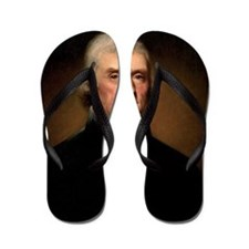 Thomas Jefferson Flip Flops
