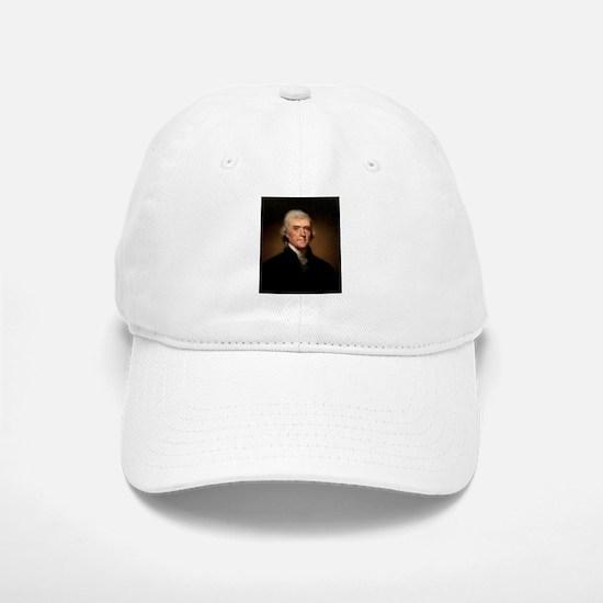 Thomas Jefferson Baseball Baseball Baseball Cap