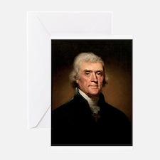 Thomas Jefferson Greeting Cards