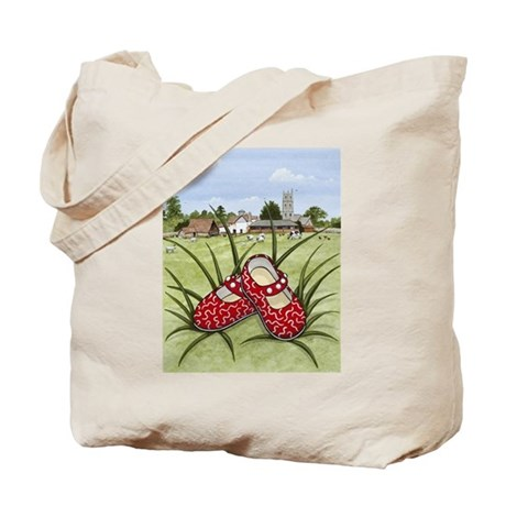 Red Shoes Woodhill Whiskers Tote Bag