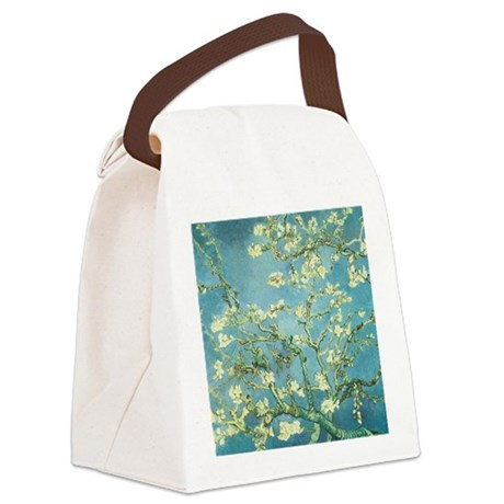 Blossoming Almond Canvas Lunch Bag