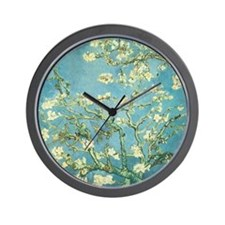 Blossoming Almond Wall Clock