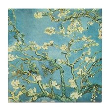 Blossoming Almond Tile Coaster
